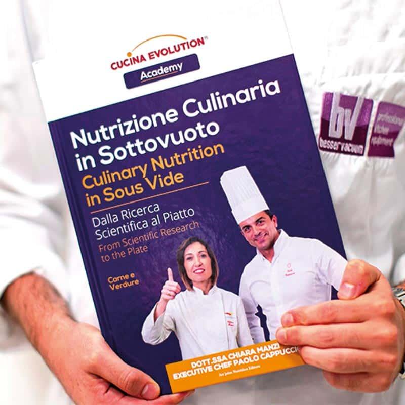 Nutrizione Culinaria Sottovuoto di Chiara Manzi - Cucina Mediterranea Sottovuoto - Besser Vacuum